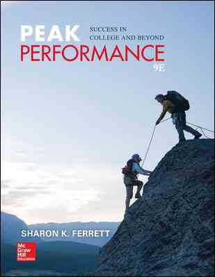 Peak Performance By Ferrett, Sharon